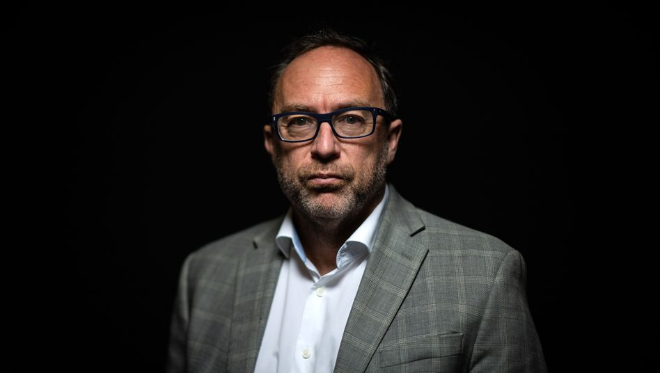 Wikipedia ist »schon ein ziemlich guter Ort«, sagt Jimmy Wales