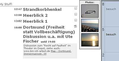 Kalender 30boxes: Webt automatisch aus Flickr-Fotos eine Lebenschronik