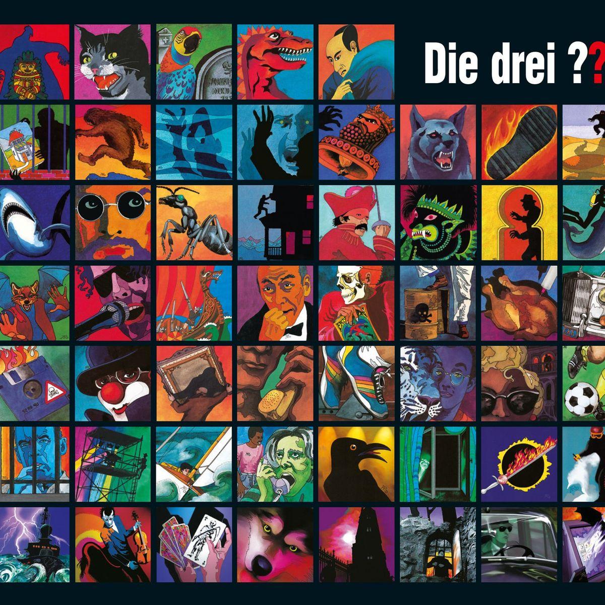Die Drei Fragezeichen Jubiläum 50 Jahre 200 Bücher 3 Detektive Der Spiegel
