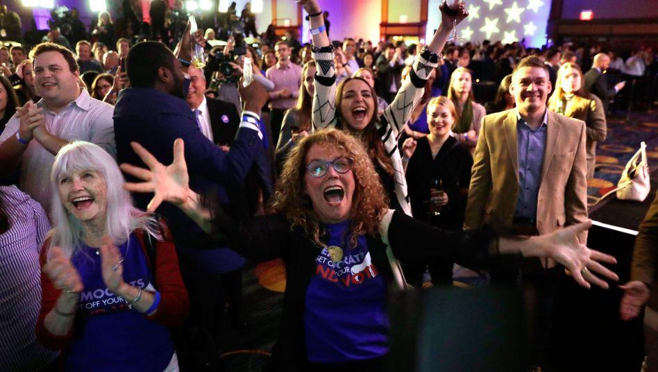 Wahlparty der Demokraten in Washington (6. November 2018)