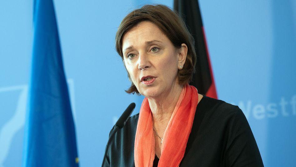 Yvonne Gebauer, Ministerin für Schule und Bildung des Landes Nordrhein-Westfalen
