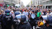 Polizei löst Corona-Demo in Berlin auf