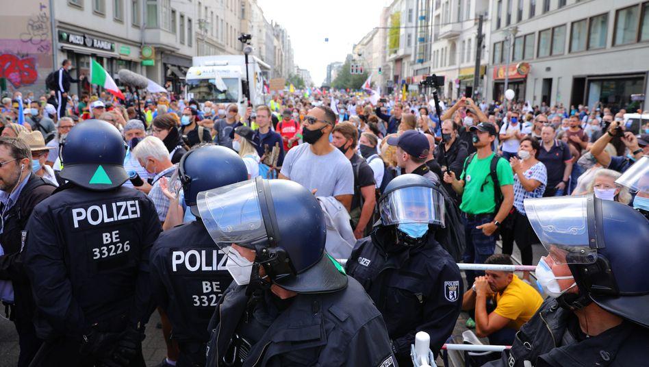 Demonstration gegen die Corona-Politik in Berlin