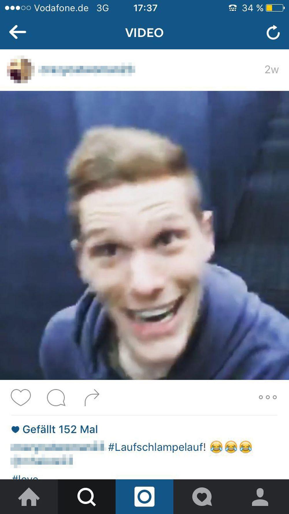 EINMALIGE VERWENDUNG Instagram/ Mahnmal Berlin/ Marcel Halstenberg