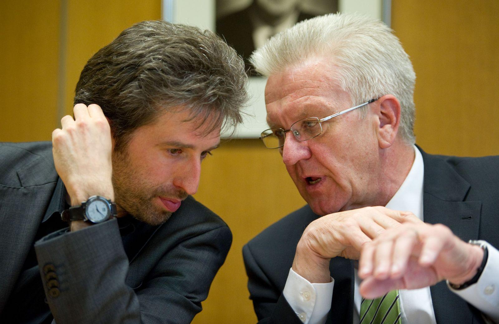 Boris Palmer/ Winfried Kretschmann