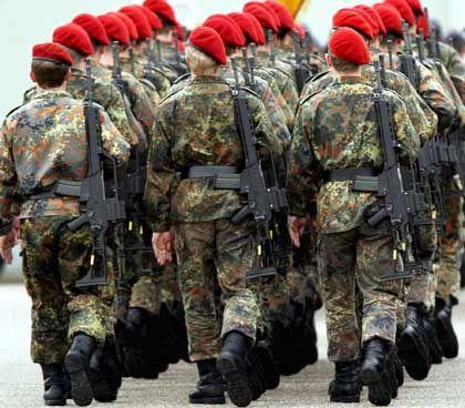 Bundeswehrsoldaten: zu dick und zu unsportlich