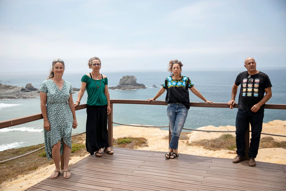 Environmentalist Sara Serrão others from Juntos pelo Sudoeste are trying to save the local nature preserve.