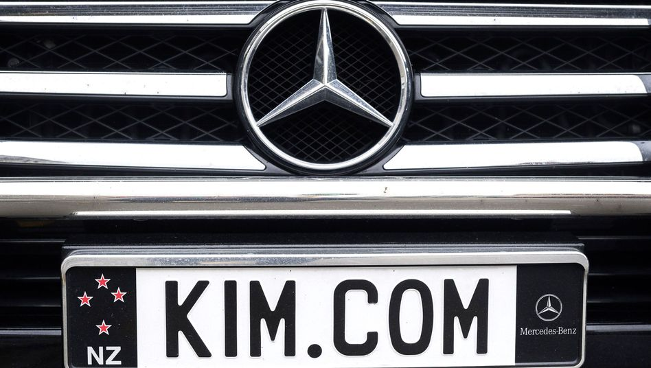 Auto von Kim Dotcom: Geheimdienst half der Polizei