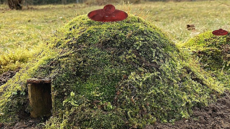 Prouvost-Skulptur »Boob Hills Burrows« (Modell)