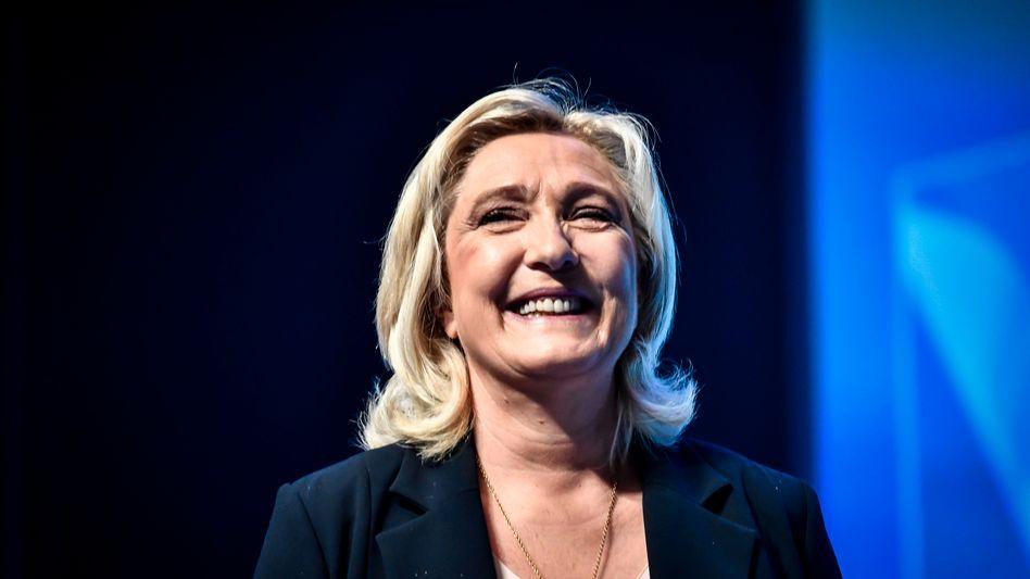 Marine Le Pen nach der Wahl in Perpignan: »Keinen Zweifel daran, was für Frankreich zu tun ist«