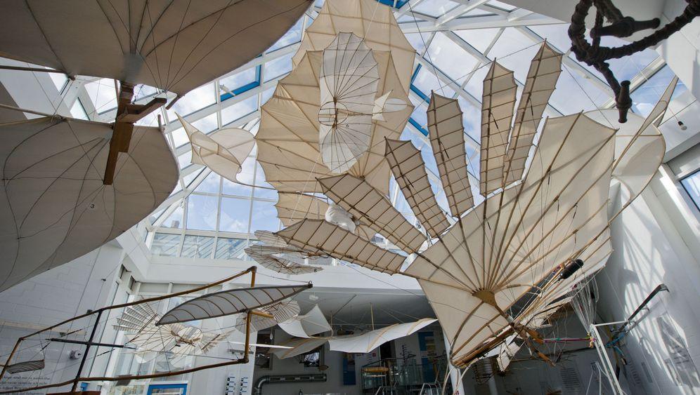 Lilienthal-Flugapparat: Test im Windkanal