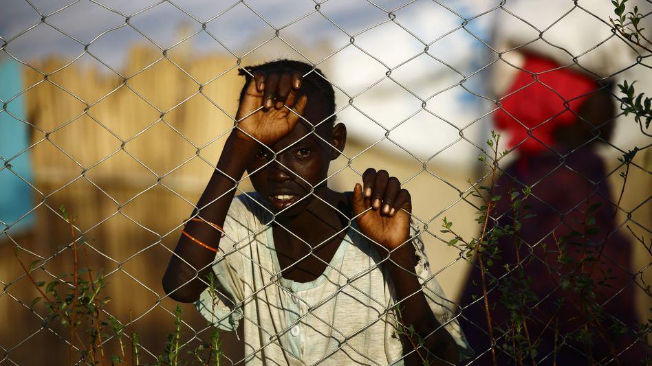 Geflüchteter aus Südsudan in sudanesischem Camp