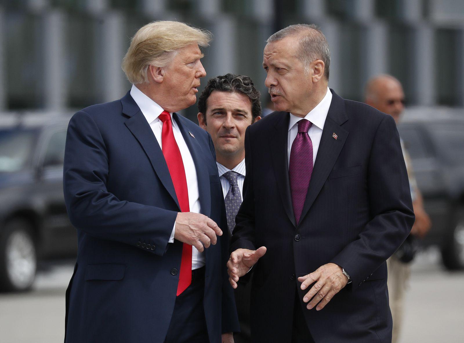 Nato-Gipfel Trump Erdogan