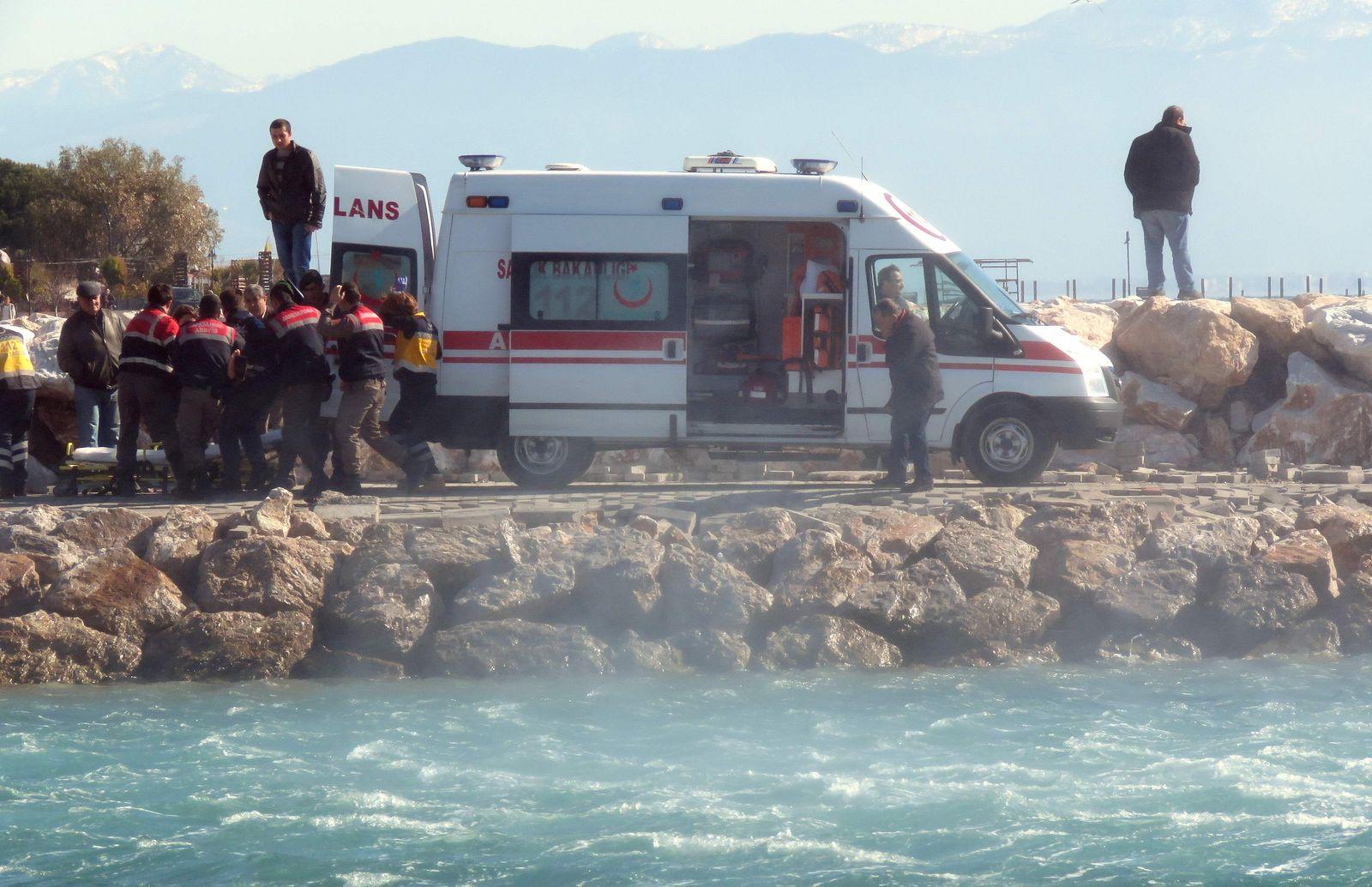 Türkei/ Flüchtlinge ertrunken