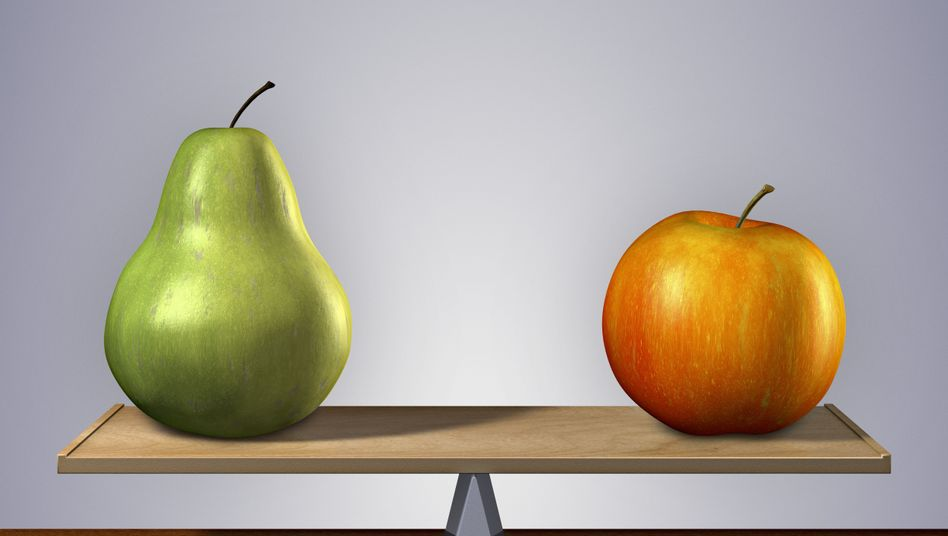 Birne- oder Apfeltyp? Sitzt das Fett eher am Bauch, besteht eher ein Gesundheitsrisiko