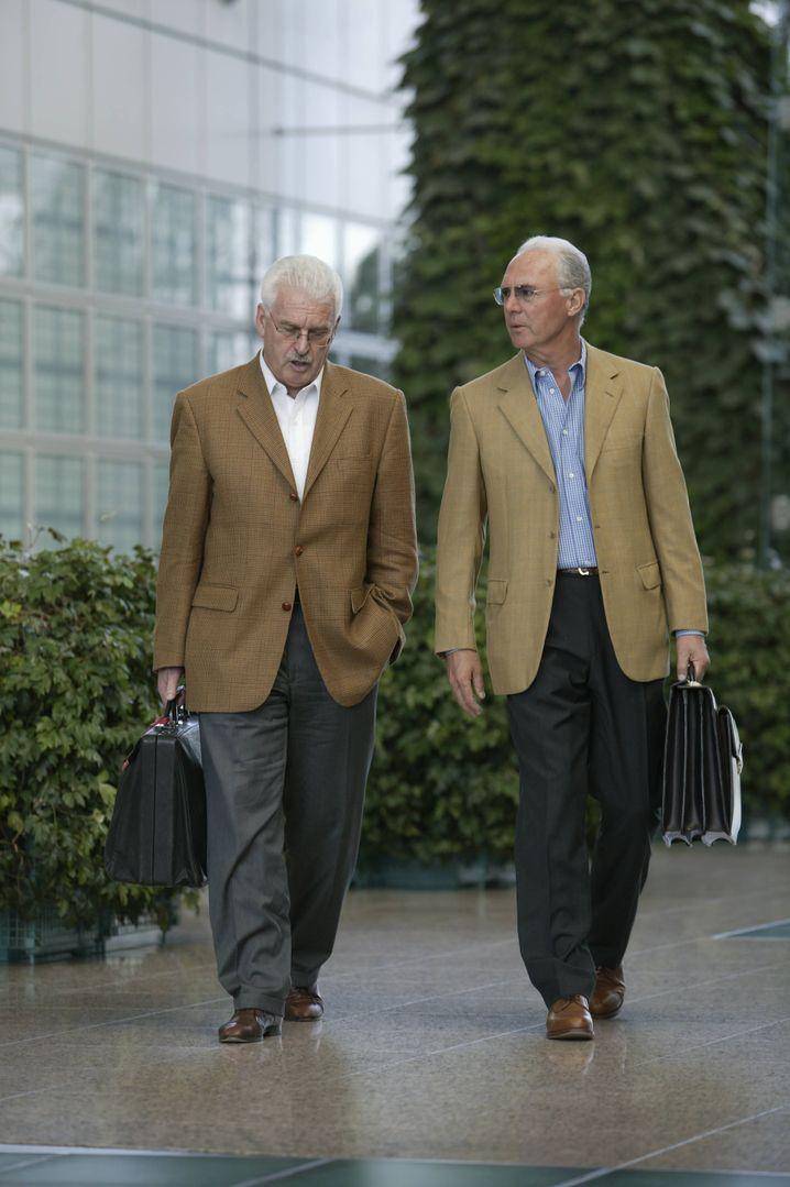 Radmann mit Beckenbauer