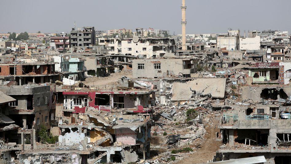Zerstörungen in Nusaybin