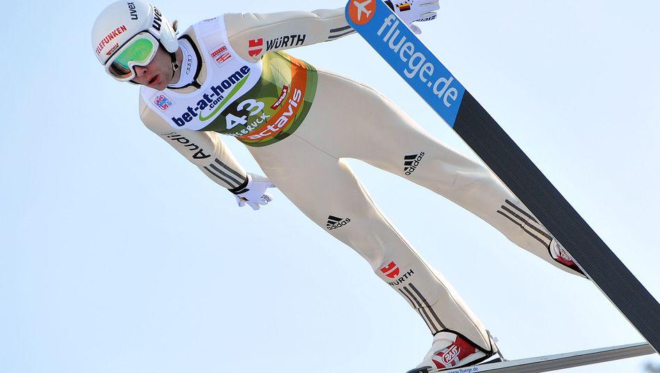 Skispringer Mechler: Platz zwei in der Qualifikation von Innsbruck