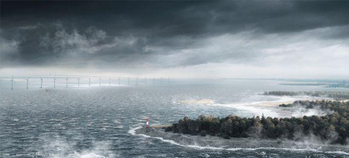 Das Bauprojekt sorgt inzwischen auch in Schweden für Kritik, Umweltschützer und Gemeinden fürchten ökologische Schäden