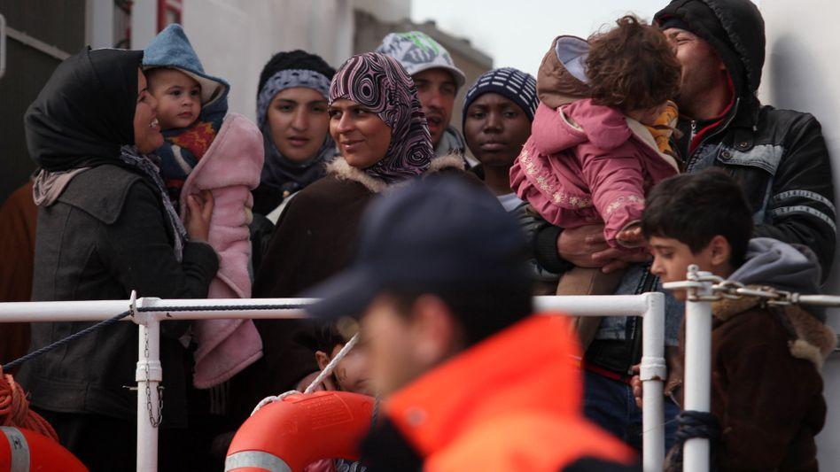 Flüchtlinge auf Sizilien: Der Norden soll dem Süden nach dem Willen der Uno mehr helfen
