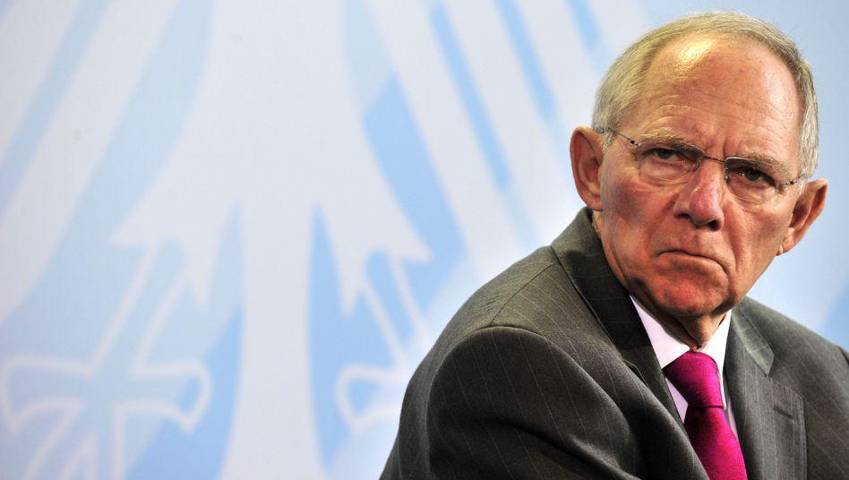 """Wolfgang Schäuble: """"Jeder freiwillige Beitrag ist willkommen"""""""