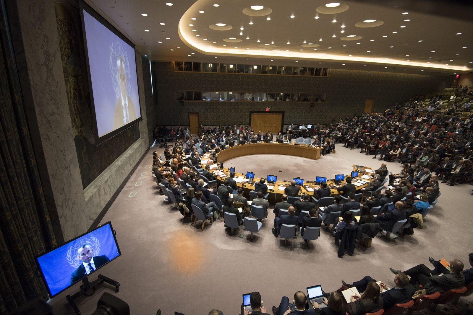 Jerusalem-Konflikt - UN-Sicherheitsrat