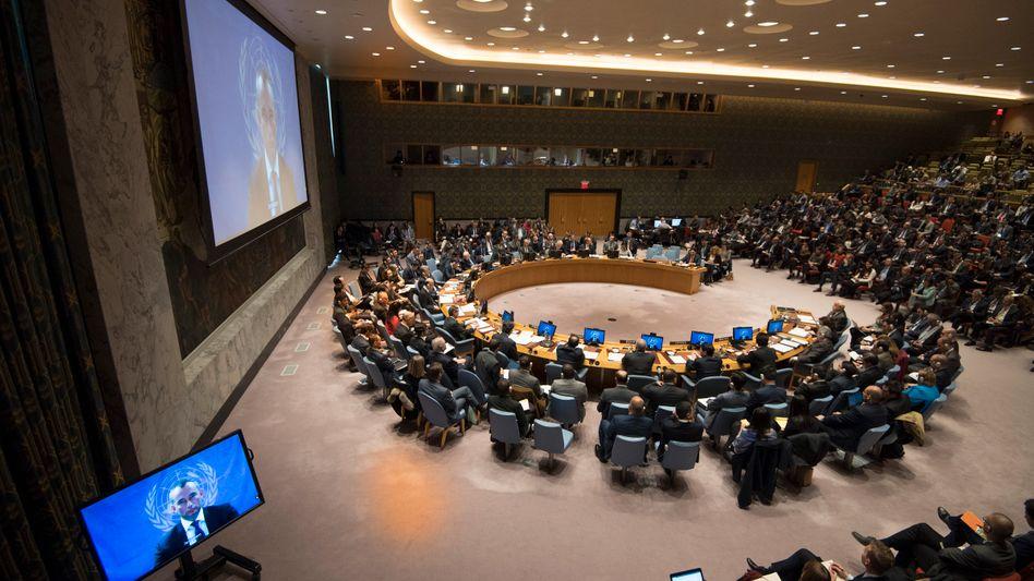 Uno-Sicherheitsrat (Archiv)