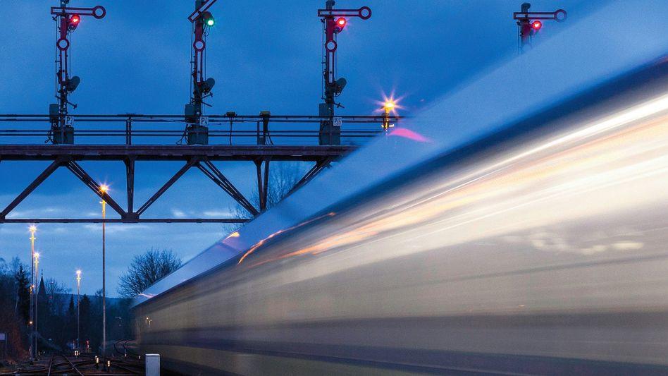 Signalanlagen der Bahn