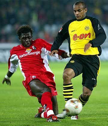 Freiburgs Star aus Mali: Soumaila Coulibaly (l.)