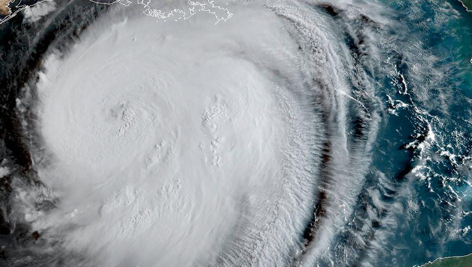 """Satellitenbild von """"Laura"""": Extrem gefährlicher Hurrikan"""