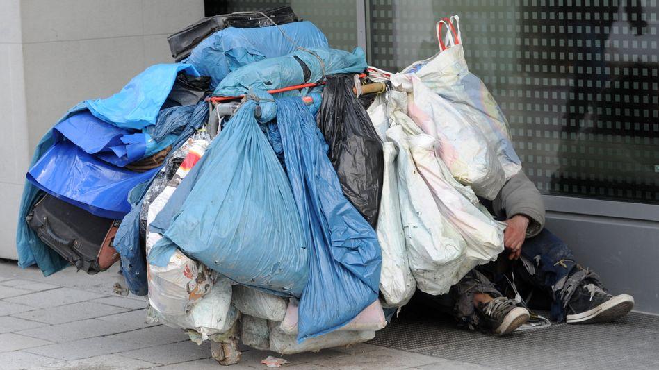 Obdachloser in München (Archivbild): Viele bräuchten psychiatrische Hilfe
