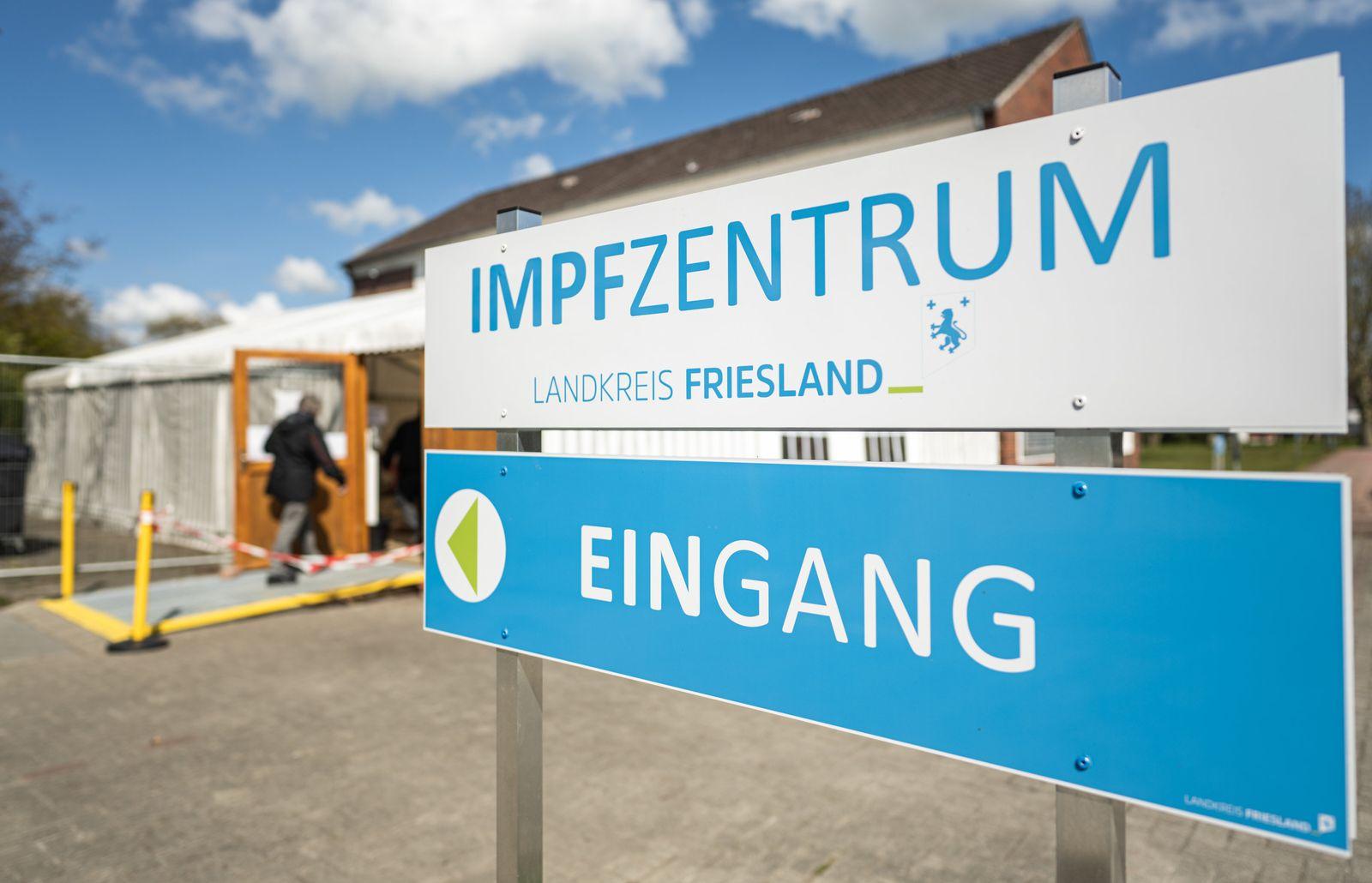 Impfzentrum Friesland: Kochsalzlösung anstatt Biontech