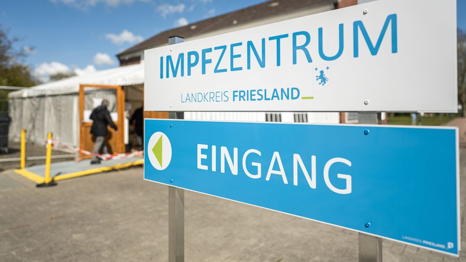 Impfzentrum im friesischen Schortens (Archivbild)