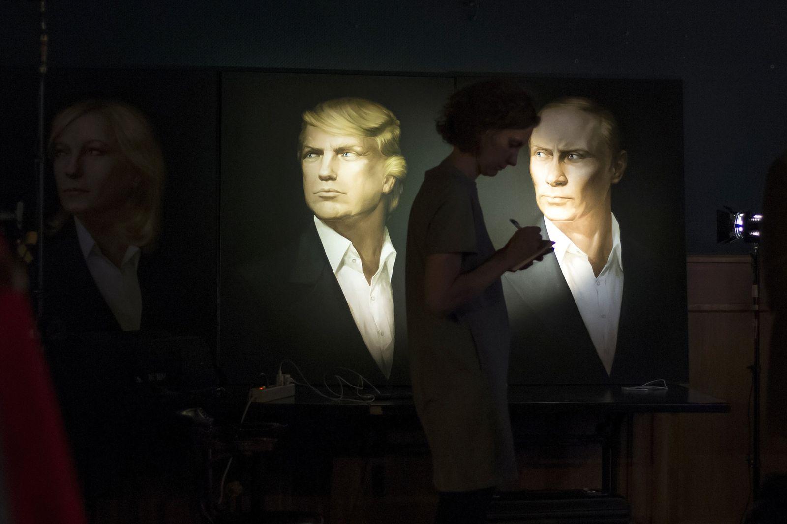 Wladimir Putin/Trump