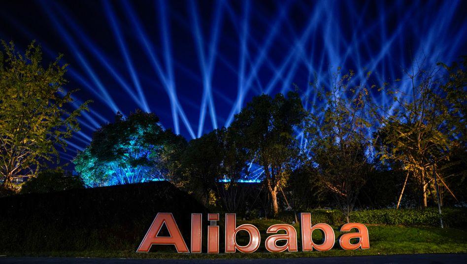 Alibaba-Zentrale im chinesischen Hangzhou