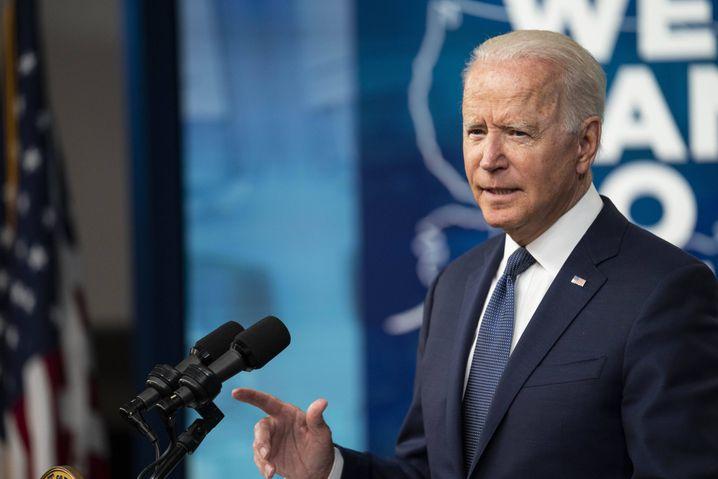 US-Präsident Joe Biden: »Unser Kampf gegen dieses Virus ist nicht vorbei«