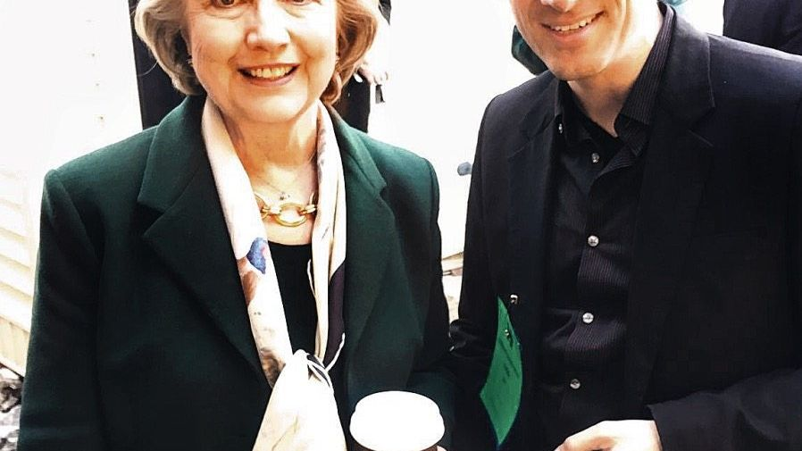 Clinton, Stark in Buffalo