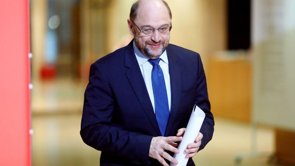 Martin Schulz in Berlin