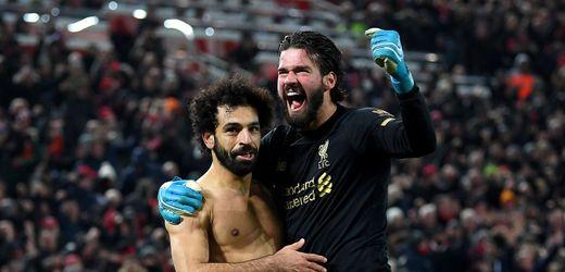 FC Liverpool schlägt Manchester United: Nicht aufzuhalten