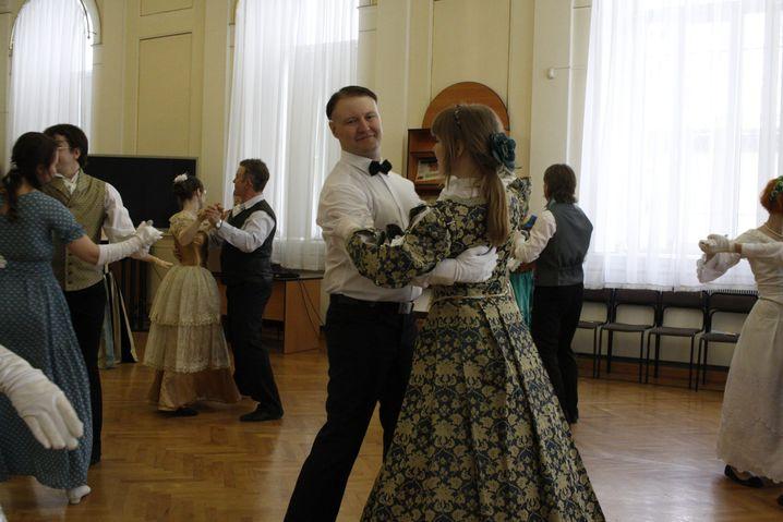 Alexej beim Tanzen, seinem großen Hobby