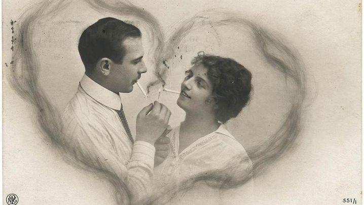 Kitschpostkarten im Kaiserreich: Herzschmerz aus dem Briefkasten