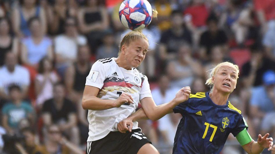 Die Entdeckung der WM: Giulia Gwinn im Duell gegen Schweden