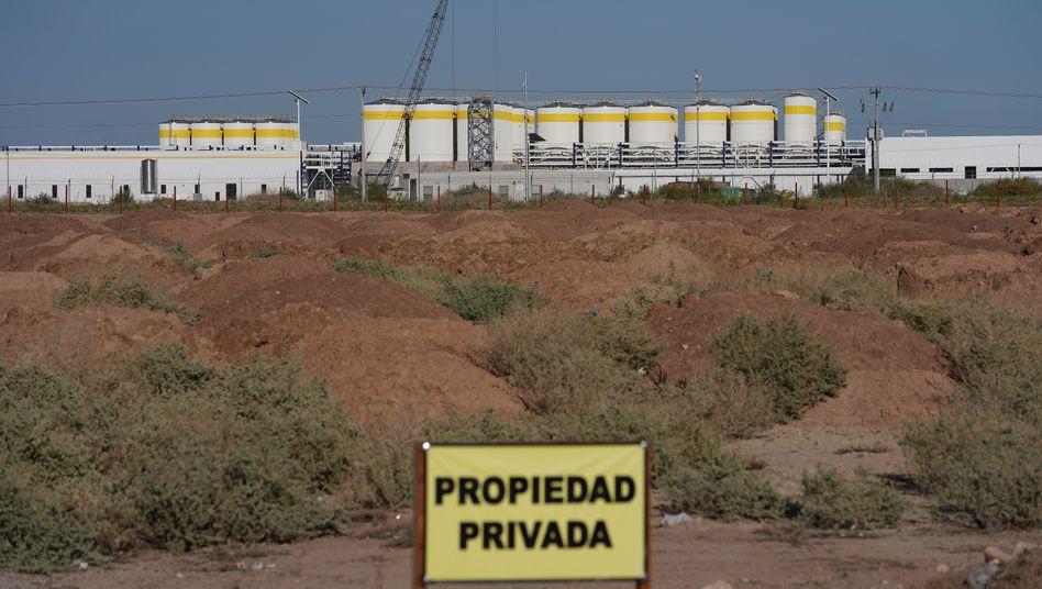 Darf nicht fertiggestellt werden: Das 1,4-Milliarden-Projekt des US-Konzerns Constellation Brands