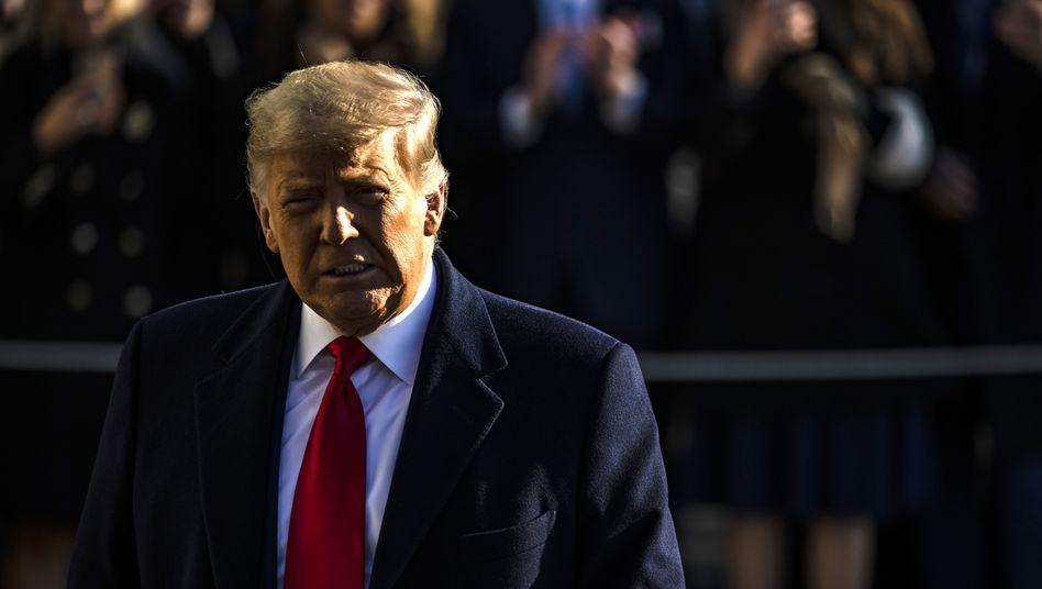 Das Amtsenthebungsverfahren wirft seine Schatten voraus: Die ersten Republikaner im Repräsentantenhaus stellen sich gegen Donald Trump