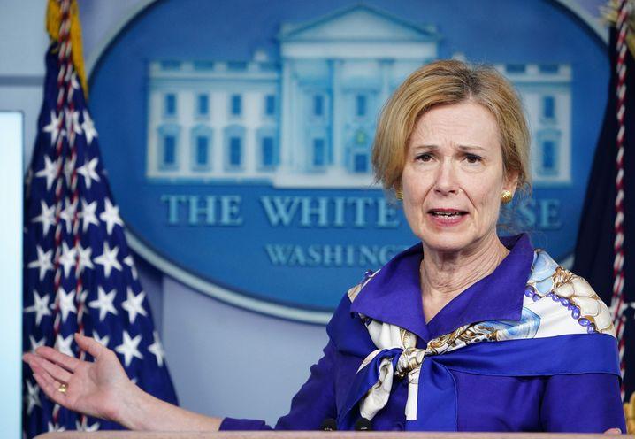 Die Koordinatorin des Coronavirus-Krisenstabs des Weißen Hauses, Deborah Birx