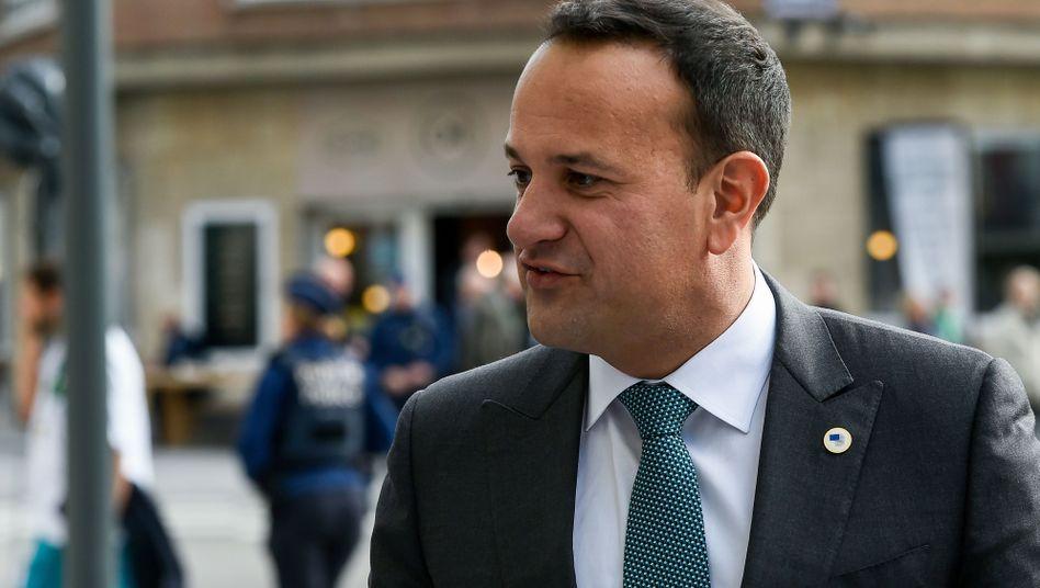 Leo Varadkar, Ministerpräsident von Irland, lobt den neuen Deal