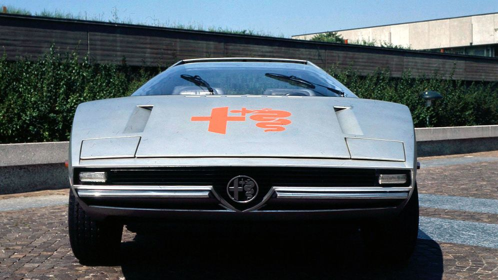 Alfa Romeo Alfasud Caimano: Der Aufsehen-Erreger