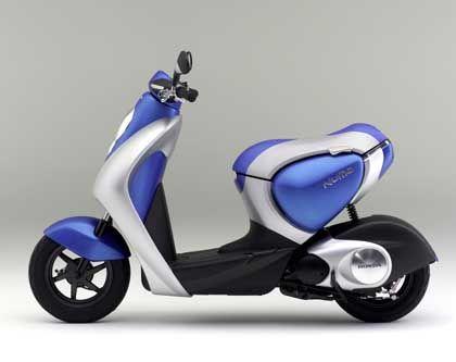 Honda Hybrid-Roller: Der Beweis, dass die Doppeltechnik auf minimalem Raum unterzubringen ist