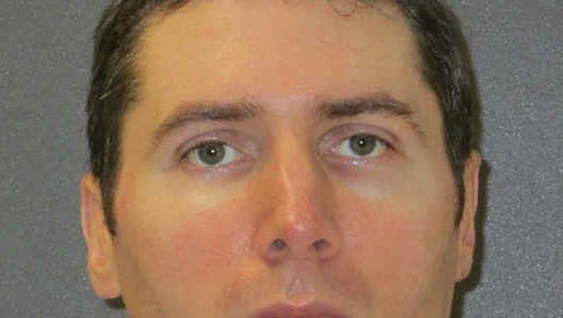 Undatiertes Foto von Justen Hall: Am Mittwoch wurde ihm im texanischen Huntsville eine Giftspritze verabreicht