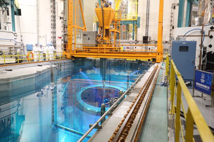 Chinesische Reaktor »Hualong One«: seit Freitag in Testbetrieb.